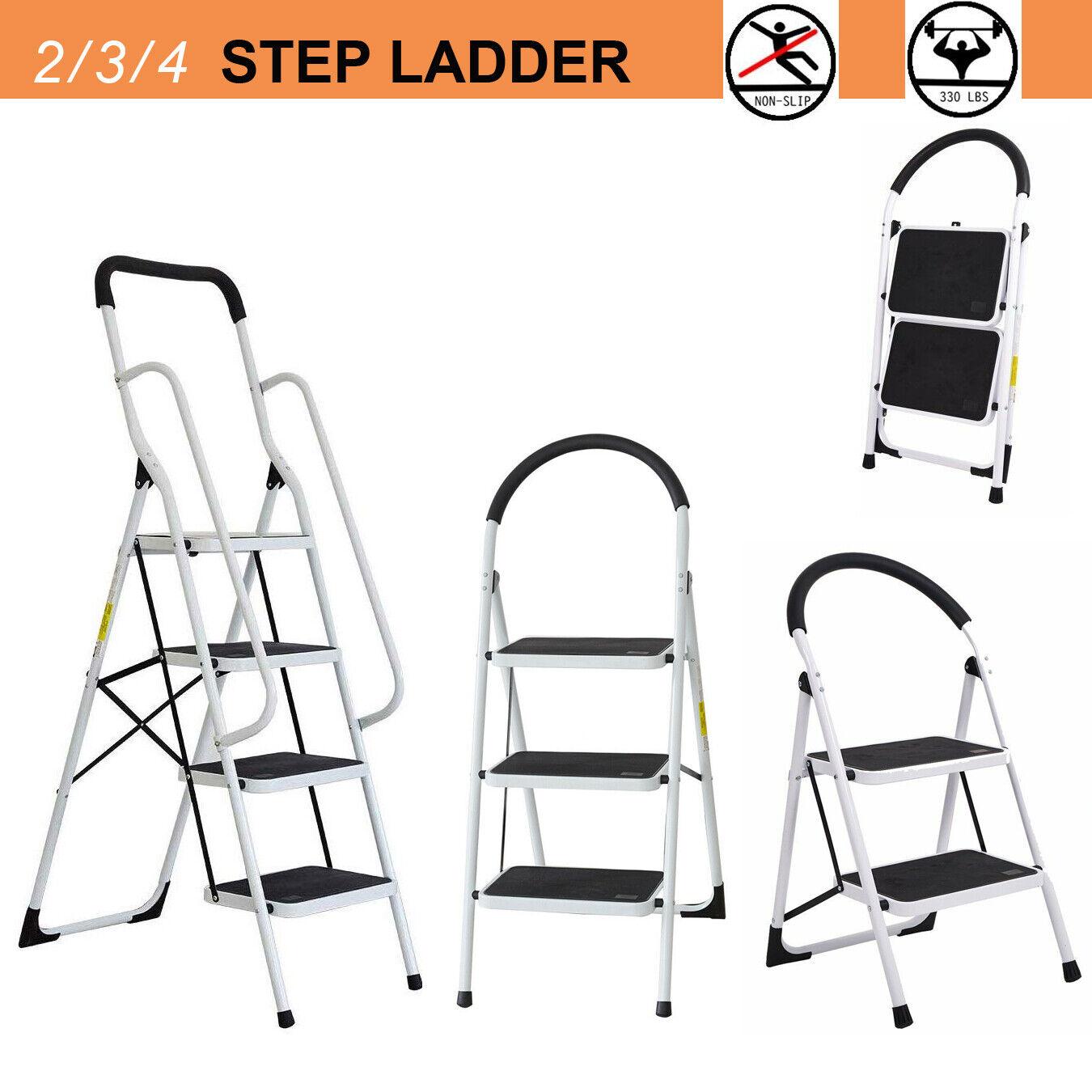 2 3 4 step ladder folding stool