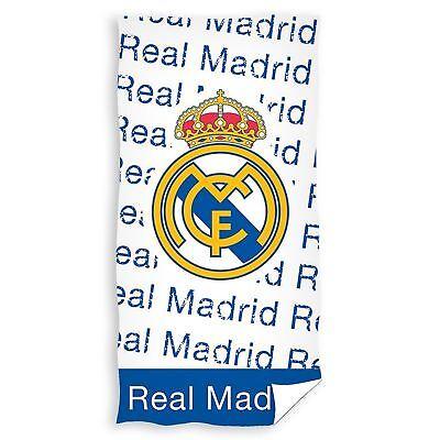 Real Madrid Cf Urban Toalla Baño Playa Grande 100% Algodón Football Club