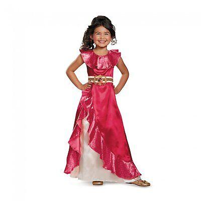 Disguse Disney Elena Of Avalor Adventure Dress Classic Halloween Costume 11007