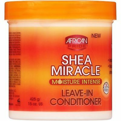 Shea Moisture Leave In Conditioner (African Pride Shea Butter Moisture Intense Miracle Leave in Conditioner 425g)