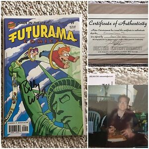 Futurama #9 signed by BILLY WEST Peterborough Peterborough Area image 4