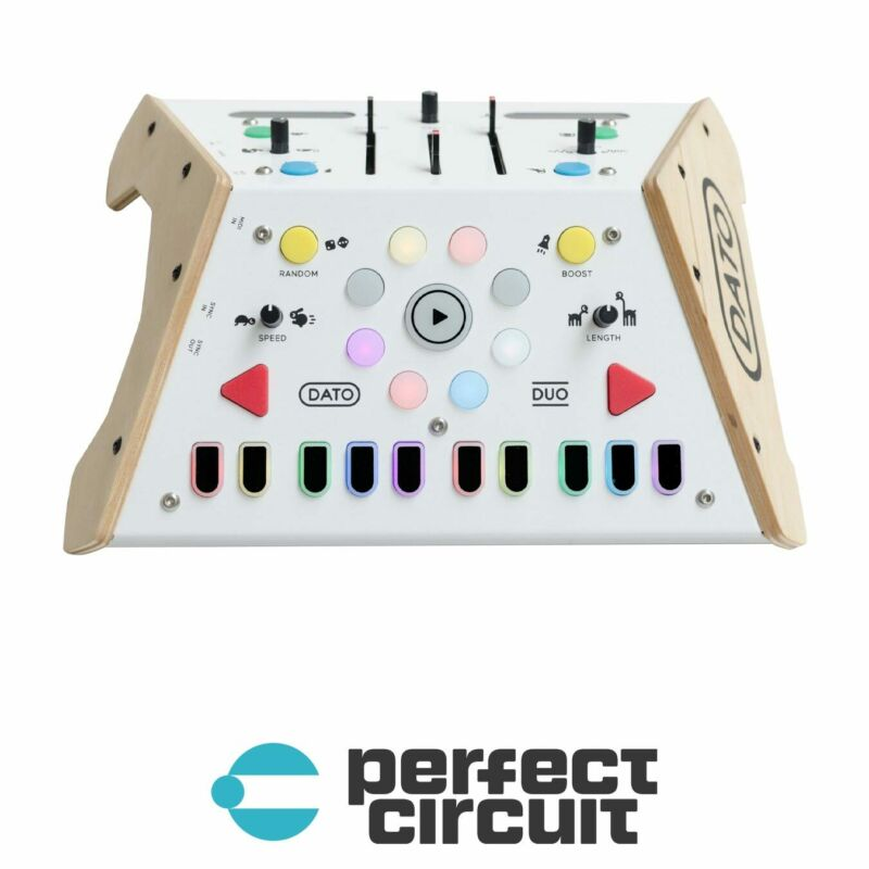 Dato DUO Synthesizer for Two Desktop SYNTHESIZER - NEW - PERFECT CIRCUIT