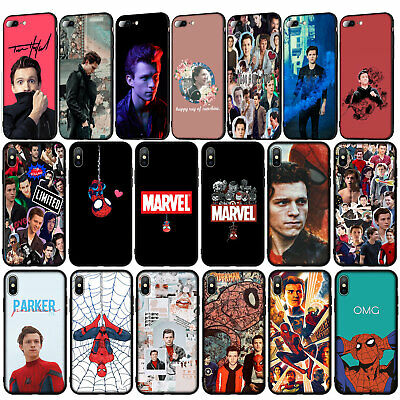 Tom Holland Spider Man Marvel Case for iPhone 11 Pro XR X XS Max 8 7 6 6s Plus 5