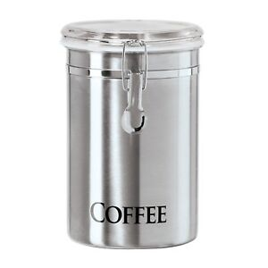 Oggi 62-Ounce Brushed Stainless Steel