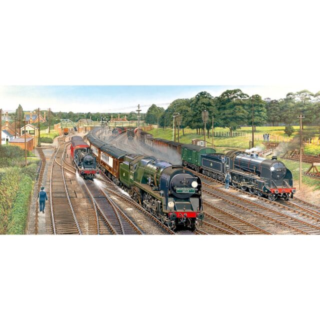 Gibsons - 636 PIECE PANORAMIC JIGSAW PUZZLE - New Forest Junction
