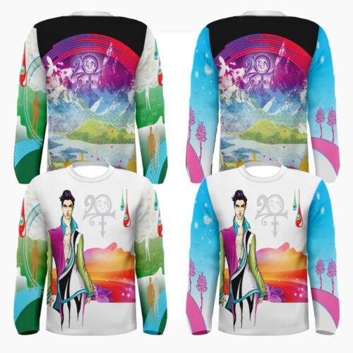 New Prince Roger Nelson 20TEN 20 TEN The Artist Long Sleeves T-shirt Tee