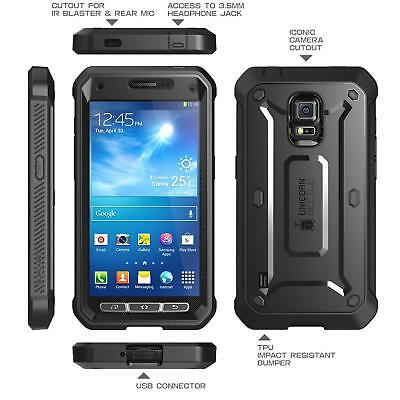 SUPCASE Samsung Galaxy S5 Active Case Rugged Protective Cover w/Screen Protector
