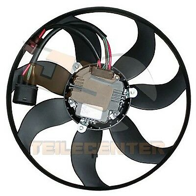 PREMIUM FAN ENGINE COOLING RADIATOR FAN BLOWER MOTOR AUDI, VW, SEAT, SKODA