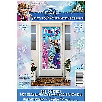 FROZEN Princess large Door Poster 27