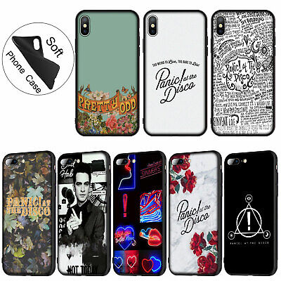 Panic At The Disco Soft TPU Case for iPhone 11 Pro XR X XS Max 8 7 6 6s Plus (Panic At The Disco Iphone 7 Case)