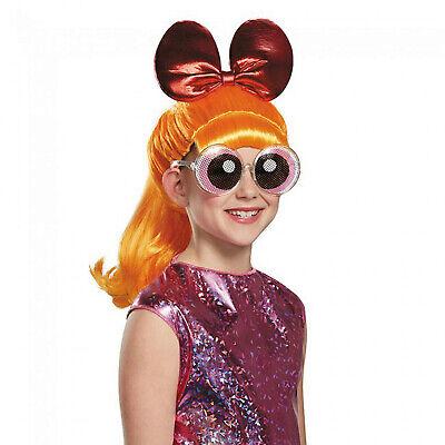 Powerpuff Girls Wigs (Powerpuff Girls Cartoon Character Blossom Child Costume)