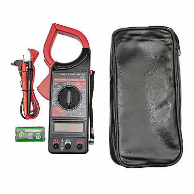 Portable Acdc Volt Digital Clamp Test Meter Reader - 1000amp 1-34 Lcd Hd