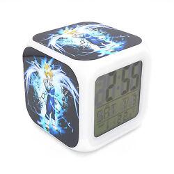 Led Alarm Clock Dragon Ball Vegeta Creative Digital Table Clock for Kid Toy Gift