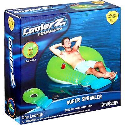 CoolerZ Super Sprawler Inflatable Float inflates 74