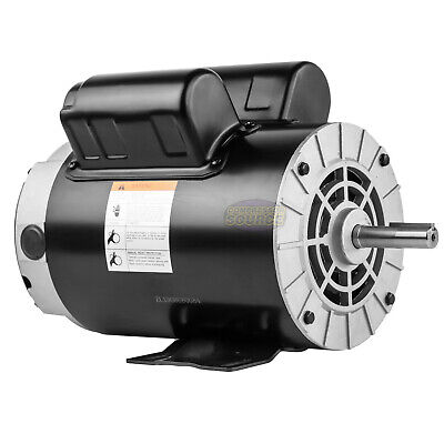 3.7hp Compressor Duty Motor Replaces Husky Bt198fa.00-m E105430 Btm56rb34d3.7m