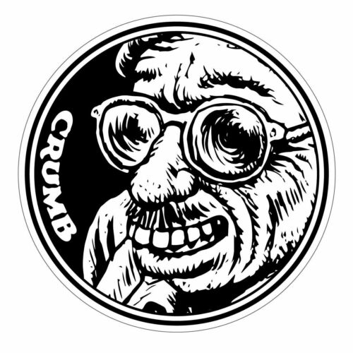 R. Crumb Sticker