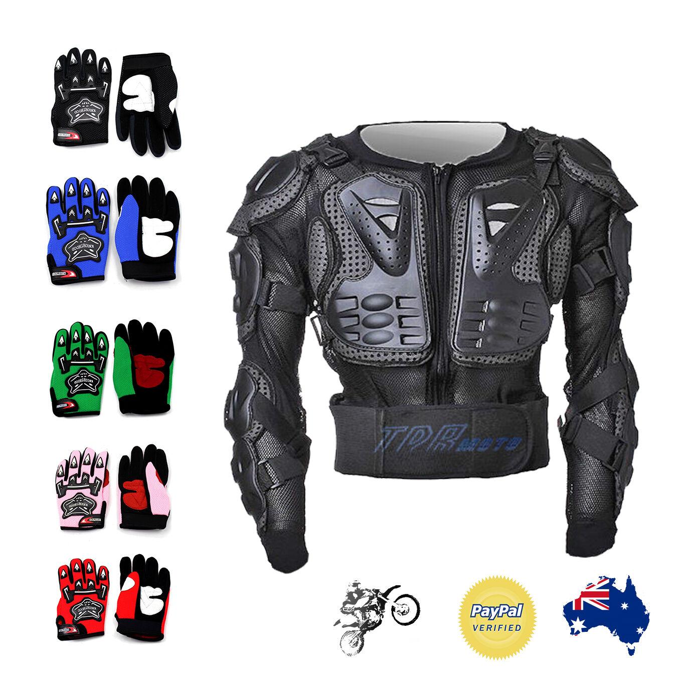 Adult KIDS BODY ARMOUR Motocross ATV Motox Downhill BMX Dirt Pit Bike Armor XMAS