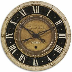 Auguste Verdier 27 Wall Clock by Uttermost #06028