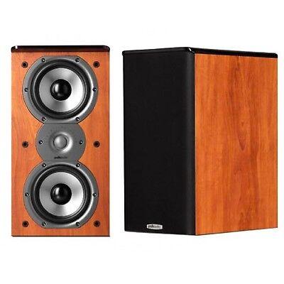 Polk Audio TSi200 CHERRY TSi Bookshelf Speakers  PAIR