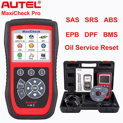 Autel MaxiCheck Pro Auto Diagnostic Tool OBD2 Code Reader Scanner ABS Airbag SRS