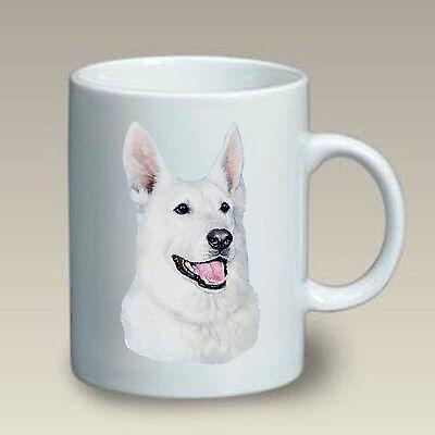 11 oz. Ceramic Mug (LP) - White German Shepherd 46195