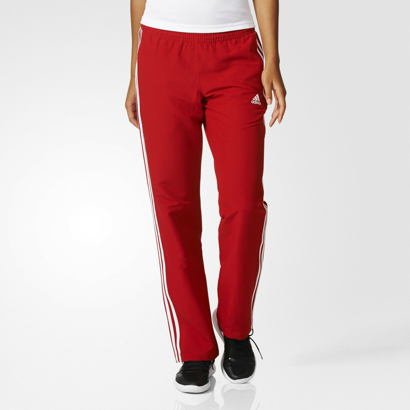 Details about adidas Team T16 Women's Tracksuit Trousers Running Gym Sports Track Pants