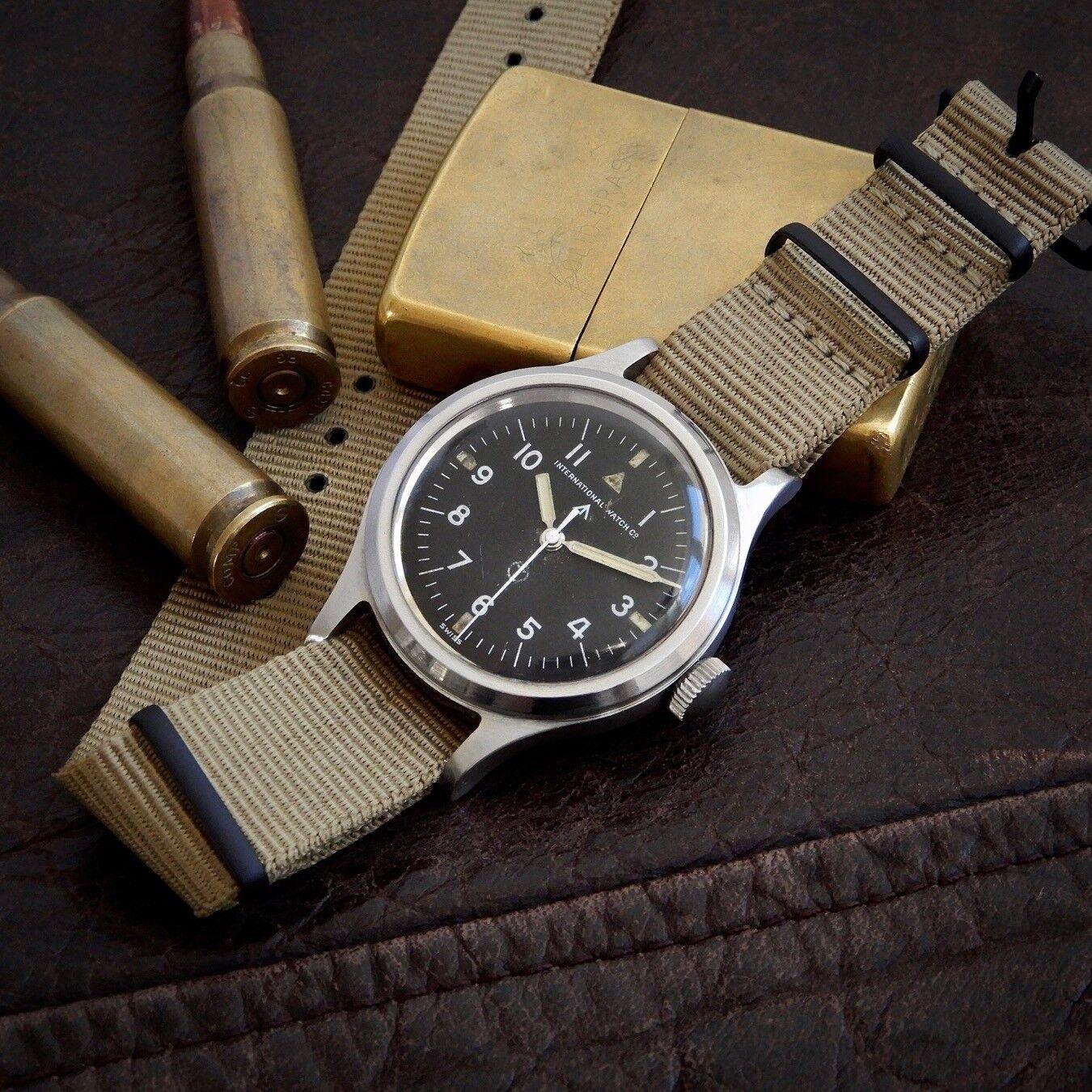 IWC Mark 11 XI Cal 89 Original British Military MoD Issued Watch 6b/346 1952 RAF - watch picture 1