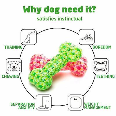Dog Chew Toy (Squeaky Rubber Dog Chew Toys Floating Chewing Teeth Cleaning Training &)
