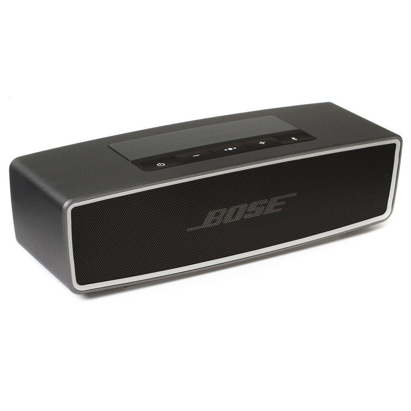 bose soundlink mini ii bluetooth wireless speaker carbon new ebay. Black Bedroom Furniture Sets. Home Design Ideas