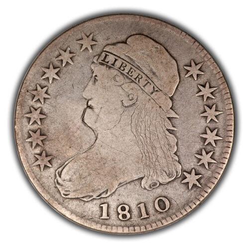 1810 O-102 R-2 Capped Bust Half Dollar - Hobo Type Engraved Portrait!