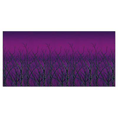 Spooky Forest Haunted House Halloween Carnival Party Wall Decoration Backdrop ()