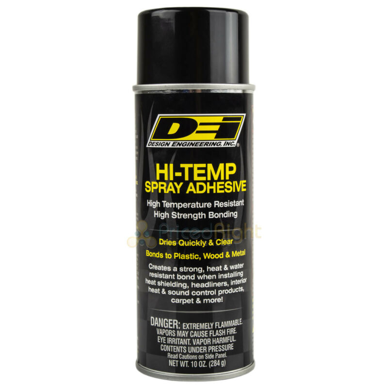 Hi Temp Spray Adhesive 10 oz. Can Headliner Glue Upholstery High Strength DEI