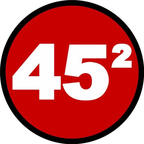 "TRUMP 45th PRESIDENT SECOND TERM 2020 DECAL BUMPER STICKER MAGA 3"" Decal squared"