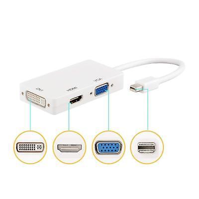 Mini Display Port DP to HDMI VGA DVI Converter For Microsoft Surface Pro 2 3 4