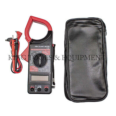 King Digital Clamp Meter Ac Amp Current Ohm Voltage Tester