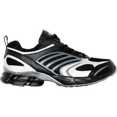 Ridge 6008 Lightweight Black   Grey Running Shoes