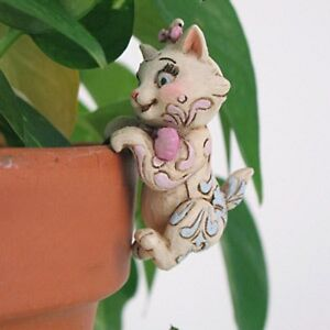Disney Jim Shore Aristocats Marie Plant Planter Pot Hanger Adornment Figurine