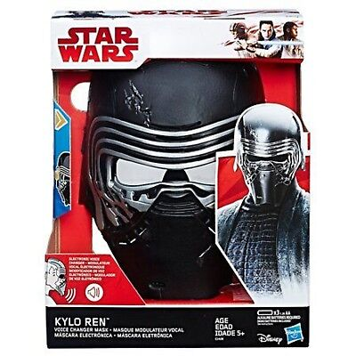 Star Wars: The Last Jedi Kylo Ren Electronic Voice Changer Mask Black Age 5+ - The Last Halloween Movie 2017