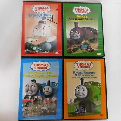 4 DVD Lot of Thomas the Train Friends 2002 Alec Baldwin Storyteller