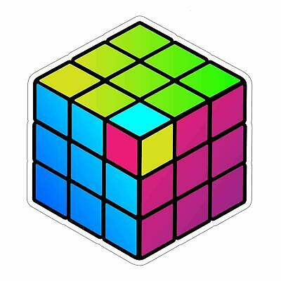80's Throwback Rubik's Cube Sticker for sale  Shipping to Nigeria