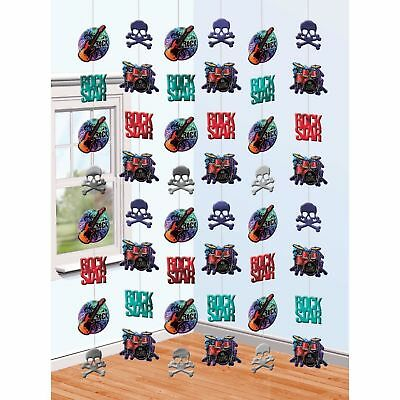 Rock Star Guitar Party Supplies String Decorations 42' of Decor