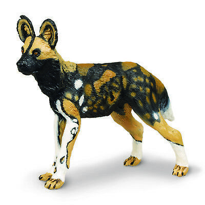 (AFRICAN WILD DOG 2005 Safari Ltd Wild Safari Wildlife 23972 PAINTED WOLF)