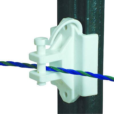 Field Guardian T Postwood Pinlock Insulator White 102158 814421013620