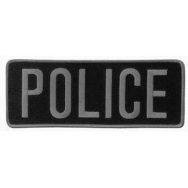 "POLICE Officer Large Uniform BACK PATCH Badge Emblem Insignia 11"" x 4""  Applique"