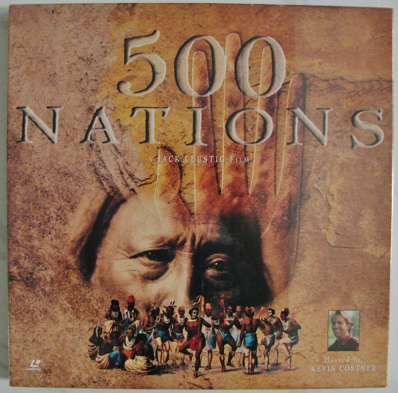 500 NATIONS Native Americans Indian 8-Episode Documentary NEW 4-LaserDisc Box