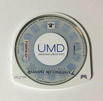 USED PSP Disc Only Tales of the World Radiant Mythology 2 JAPAN import Japanese