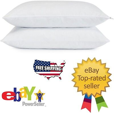 Memory Foam Bed Pillow - Serta Gel Memory Foam Cluster Classic Standard Bed Pillows 2-pack Free Shipping