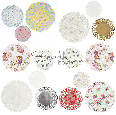 Paper Doilies x24 - Vintage Style Doilys/Shabby Chic Doily Decorations-Tea Party