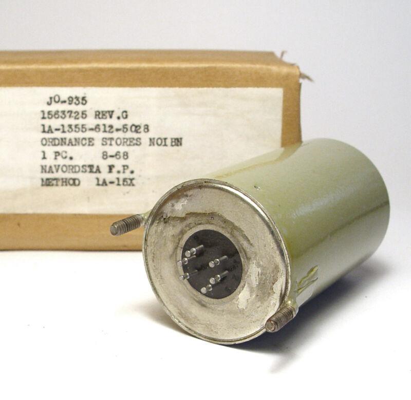 Military Audio-Transformator/Transformer, 1563725, 1:1.5, 600 Ohm, NOS