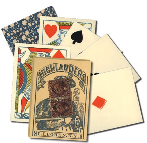 Playing Cards 1864 Faro/Poker Replica Card Deck used in many Old West movies